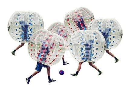 Bubble Voetbal set kinderen huren