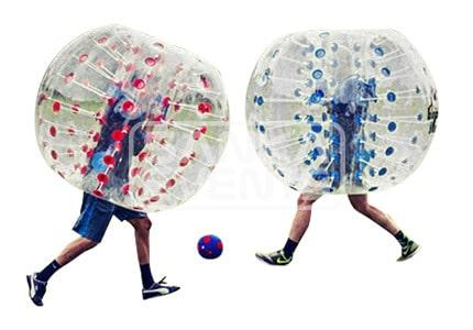 Bubble Voetbal losse bal volwassenen huren
