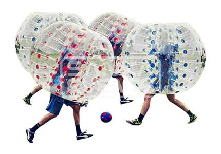 Bubble Voetbal set volwassenen huren