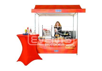 Hotdog Kraam huren