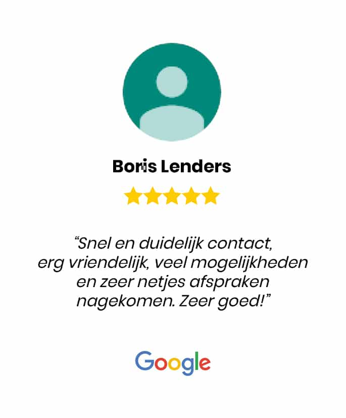 Social review homepage Boris Lenders