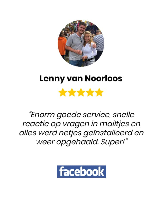 Social review homepage Lenny van Noorloos