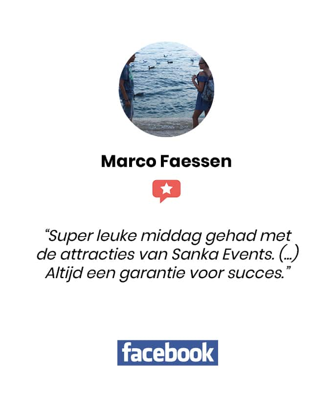 Social review homepage Marco Faessen