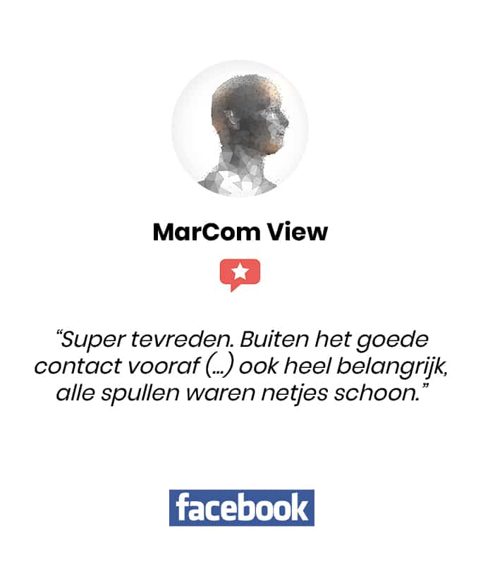 Social review homepage MarCom View
