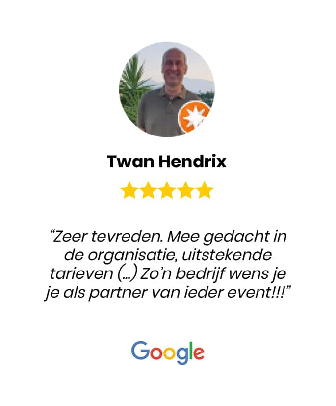 Social review homepage Twan Hendrix