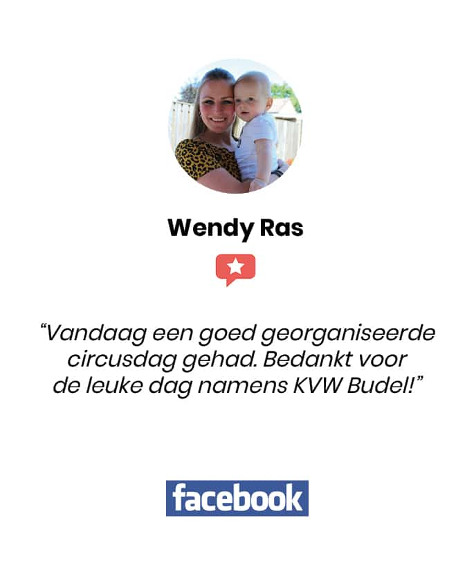 Social review homepage Wendy Ras