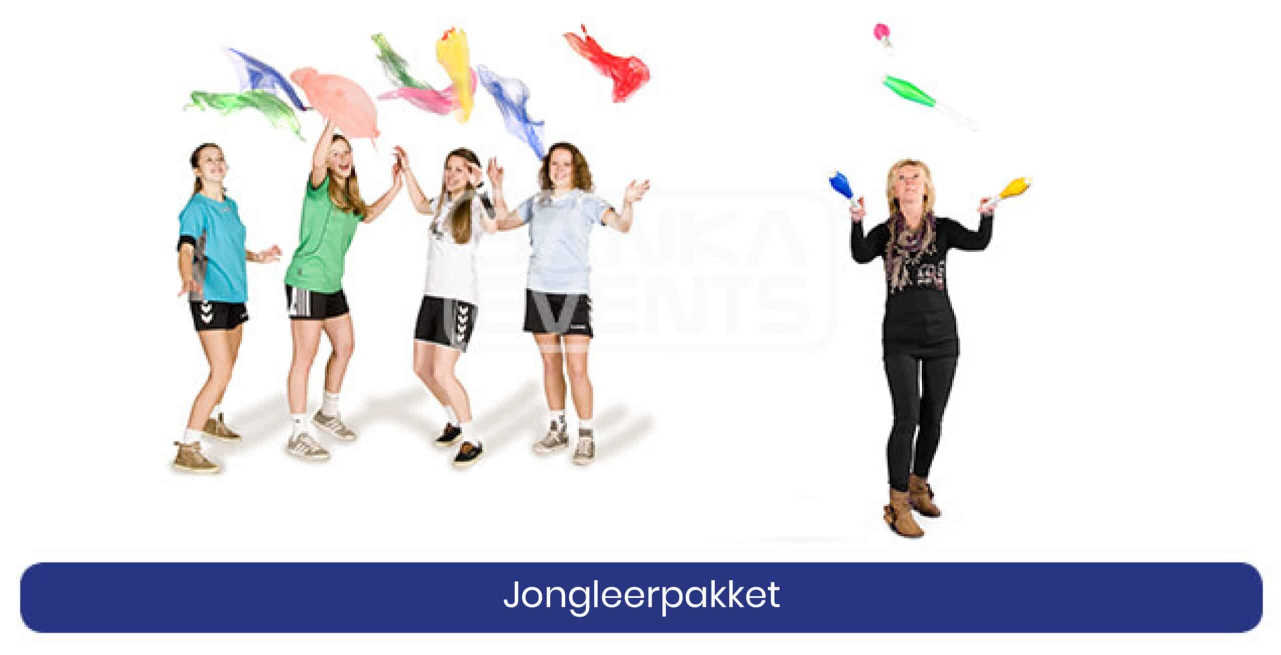 Coronaproof Spellenpakket Jongleerpakket
