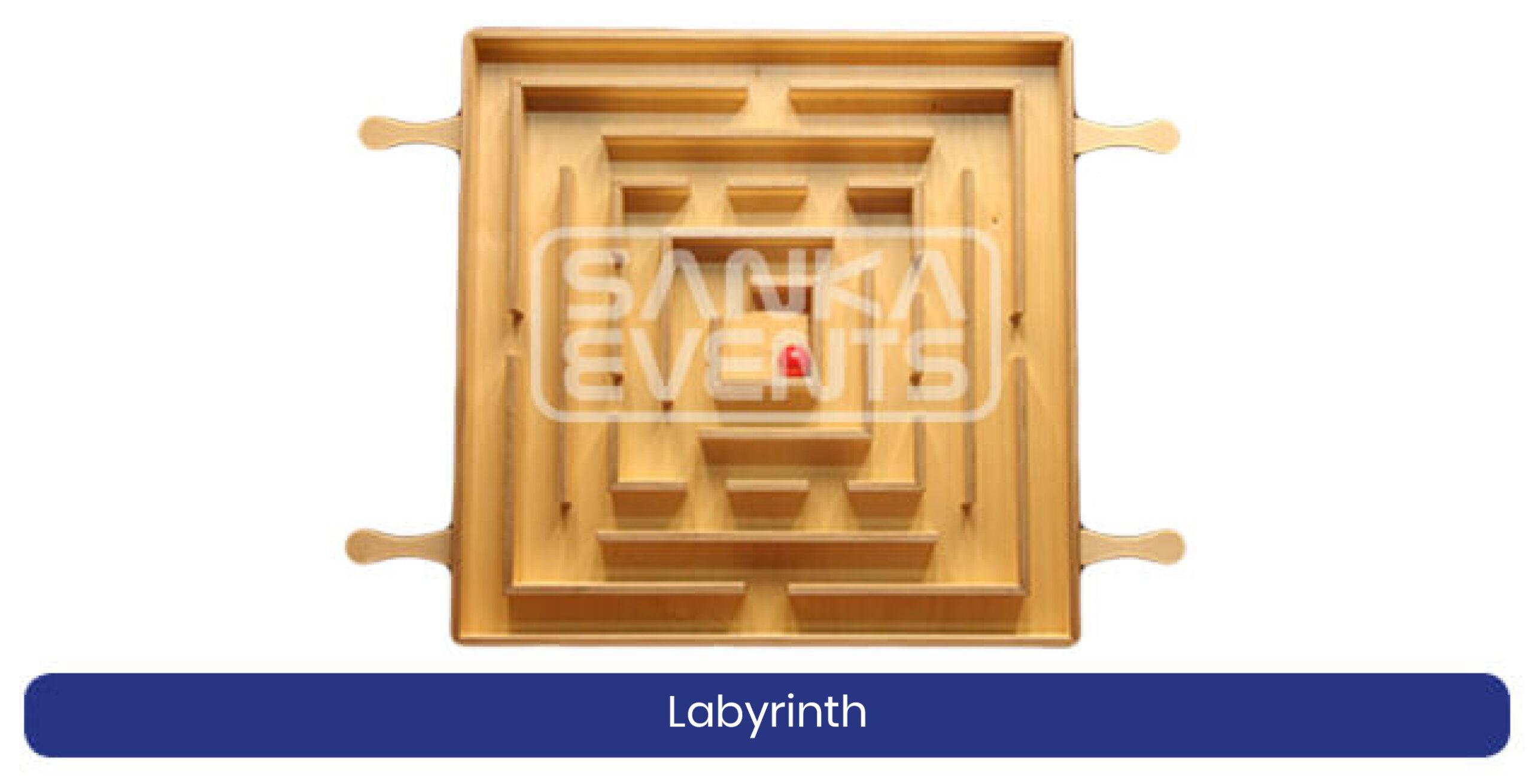 Coronaproof Spellenpakket Labyrinth