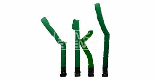 Skytube groen huren product